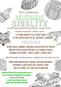 6th annual bioblitz poster final